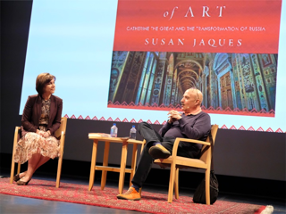 Susan in conversation at the Getty with Edward Goldman, Art Talk, 1/15/17