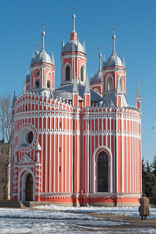 A11_The Chesme Church by Yury Velten, Anton Samsonov  Dreamstime.com