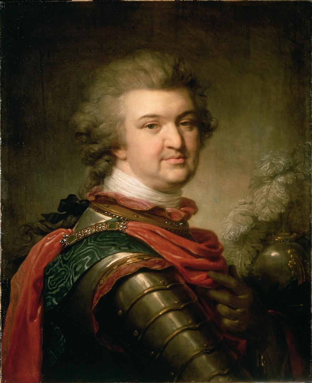 Portrait of Prince Gregory Potemkin ©1790, Johann Baptist Lampi / Hermitage, St. Petersburg, Russia / Bridgeman Images
