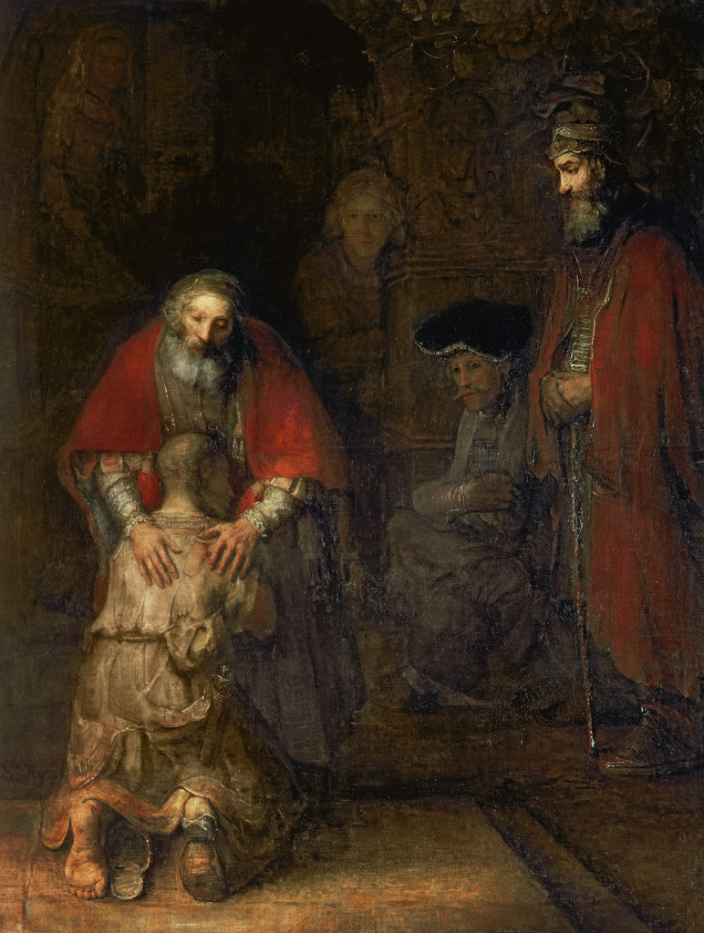 Return of the Prodigal Son, © 1668-69, Rembrandt Harmensz. van Rijn / Hermitage, St. Petersburg, Russia / Bridgeman Images