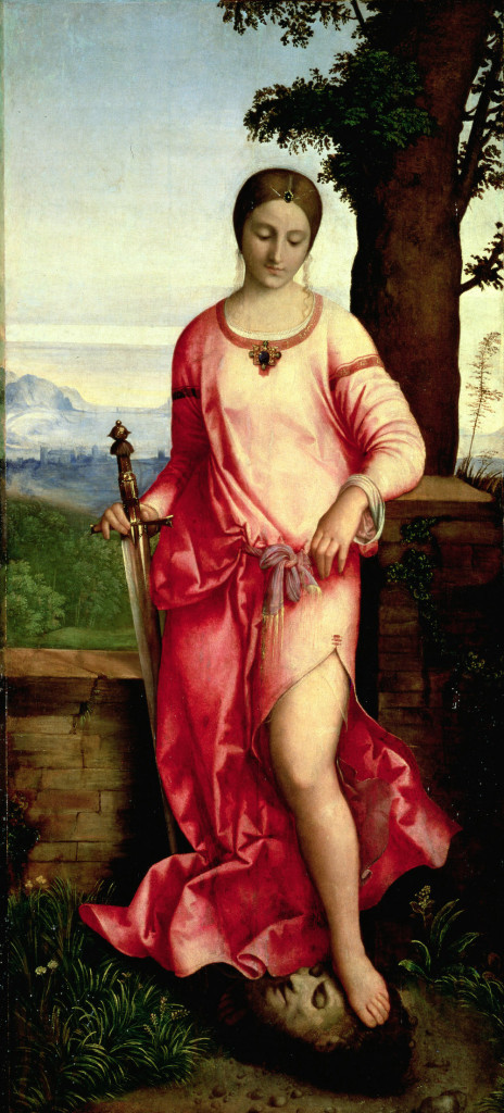 Judith (oil on panel), Giorgione,/ Hermitage, St. Petersburg, Russia / Bridgeman Images