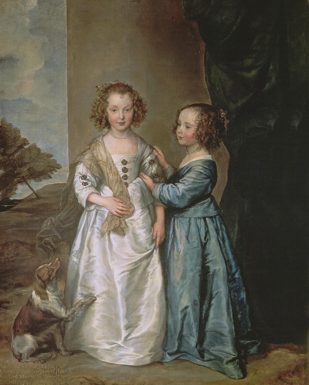Philadelphia and Elisabeth Wharton, 1640