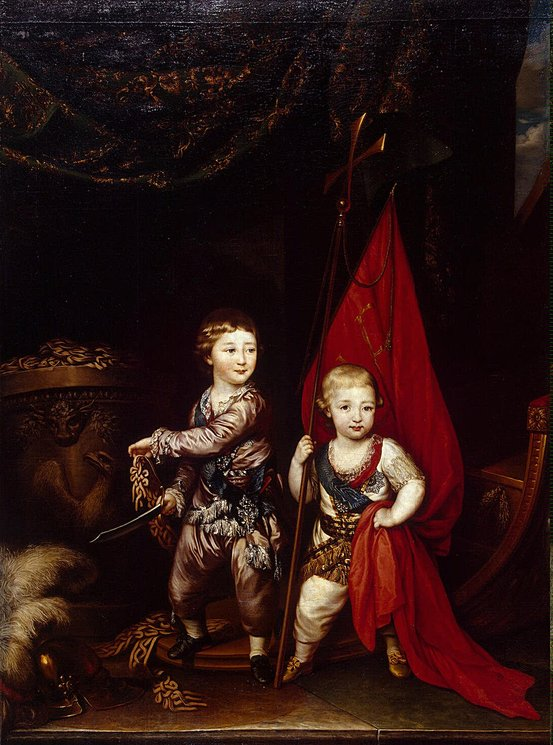 Portrait-of-Grand-Dukes-Alexander-Pavlovich-and-Constantine-Pavlovich